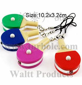 Table Tennis Ball Keychais, Pingpong Keychains