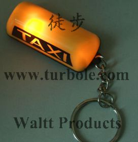 TAXI LIGHT LED KEYCHAINS