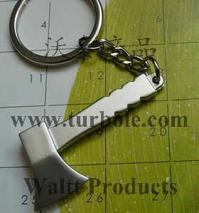 Axe Chopper Keychain, Hatchet Keychain