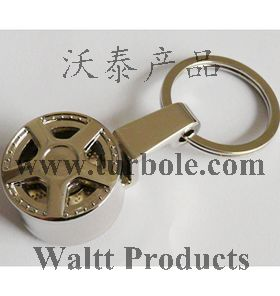 Spinning Wheel Rim Keychains, Spinning Wheel Rim Keyring