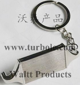 Creative Hot Sale Intercooler Auto Parts Accessories Keychain Key Chain Ring Keyfob Keyring