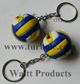 Volleyball Keychains, Volleyball Sports Keychains
